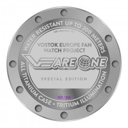 Zegarek Vostok Europe VEareONE YM8J-510H434 Expedition Everest Underground