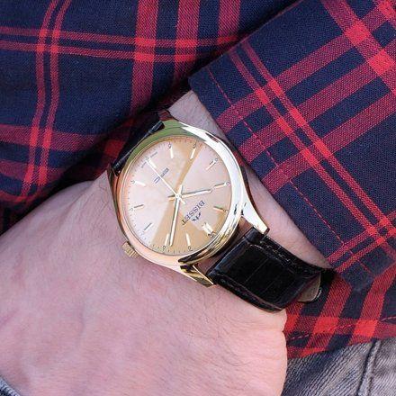 Bisset BSCC41GIGX05B1 Zegarek Męski Szwajcarski Marki Bisset