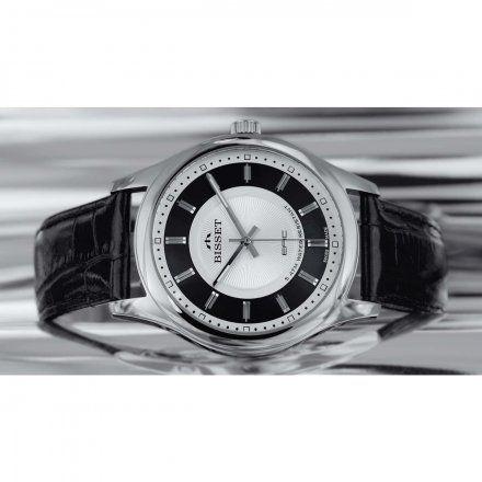 Bisset BSCC41SISB05B1 Zegarek Męski Szwajcarski Marki Bisset