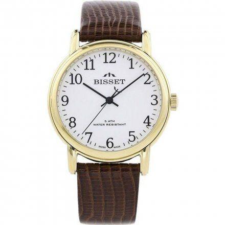 Zegarek Męski na bransolecie Bisset  BSCD60GAWX05BX