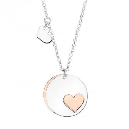 Biżuteria damska INFINITY BGNZ0068-40 Naszyjnik srebrny