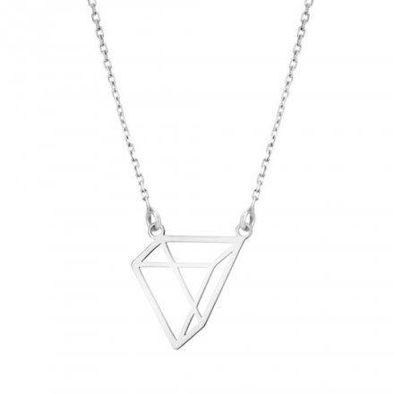 Biżuteria damska INFINITY BTNK0085 Naszyjnik srebrny