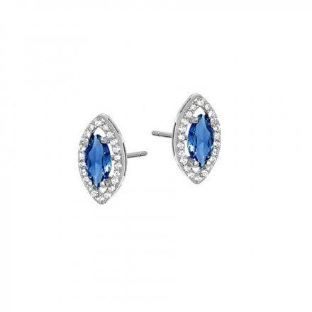 Biżuteria damska INFINITY HFKK0026 Kolczyki srebrne