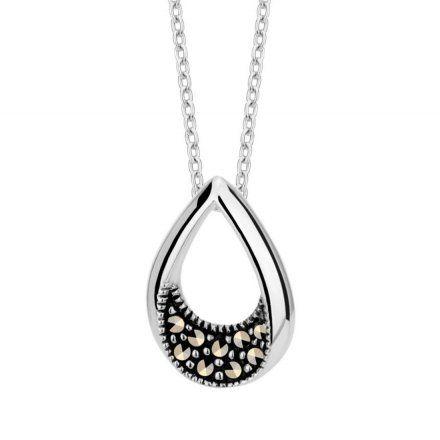Biżuteria damska INFINITY TFNK0014-42  Naszyjnik srebrny