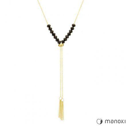 Biżuteria Manoki Stalowy naszyjnik damski WA279GB