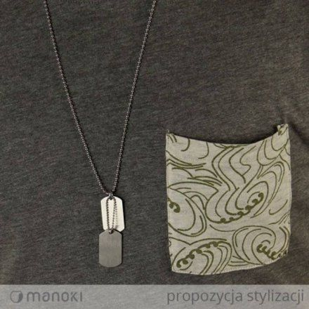 Biżuteria Manoki Naszyjnik męski WA385G
