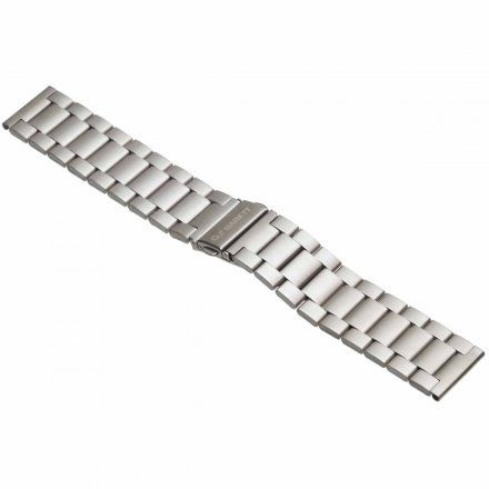 Pasek do Garett GT22S srebrny, stalowy 20 mm