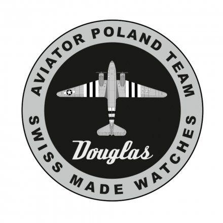 Zegarek Męski Aviator V.3.31.0.228.4 Douglas Dakota