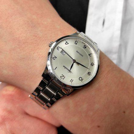 Zegarek Męski Adriatica na bransolecie  A8305.5123Q - Zegarek Kwarcowy Swiss Made