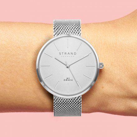 S700LXCIMC Srebrny zegarek Damski Strand by OBAKU