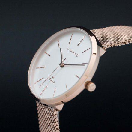 S700LXVIMV Złoty zegarek Damski Strand by OBAKU