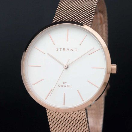 S700LXVIMV Złoty zegarek Damski Strand