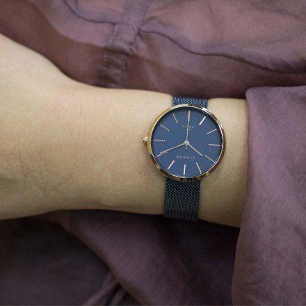 S700LXVLML Granatowy zegarek Damski Strand by OBAKU