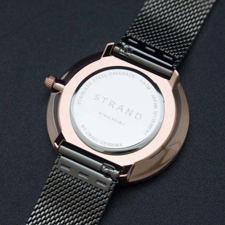 S700LXVJMJ Szary zegarek Damski Strand by OBAKU