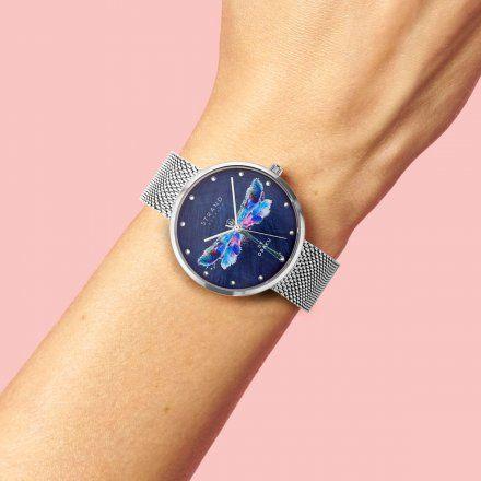 S700LXCLMC-DD  Srebrny zegarek Damski Strand