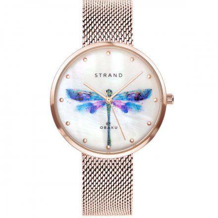 S700LXVWMV-DD Złoty zegarek Damski Strand
