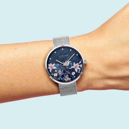 S700LXCBMC-DF  Srebrny zegarek Damski Strand