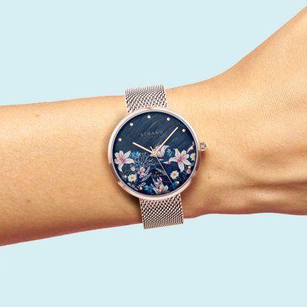 S700LXVBMV-DF  Złoty zegarek Damski Strand