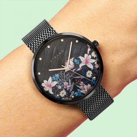 S700LXBBMB-DF Grafitowy zegarek Damski Strand