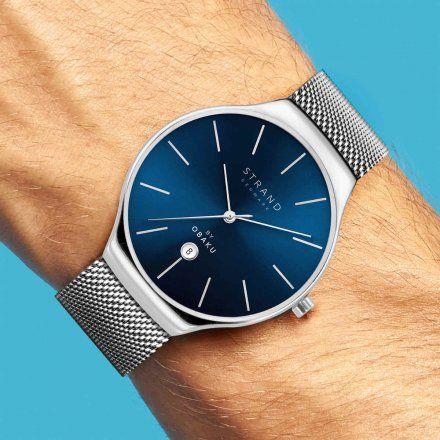 S701GDCLMC Srebrny zegarek Męski Strand by OBAKU