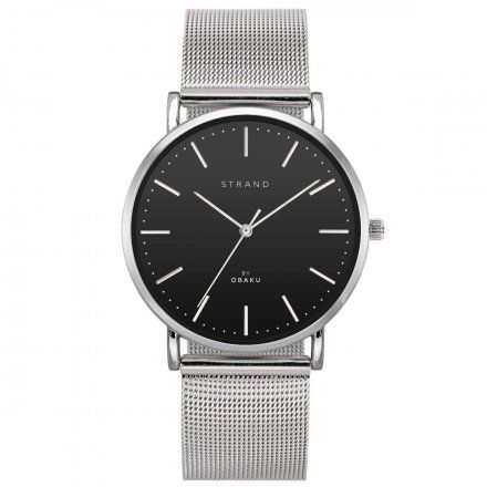 S702GXCBMC Srebrny zegarek Męski Strand by OBAKU