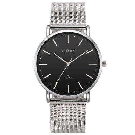 S702GXCBMC Srebrny zegarek Męski Strand