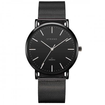 S702GXBBMB Czarny zegarek Męski Strand