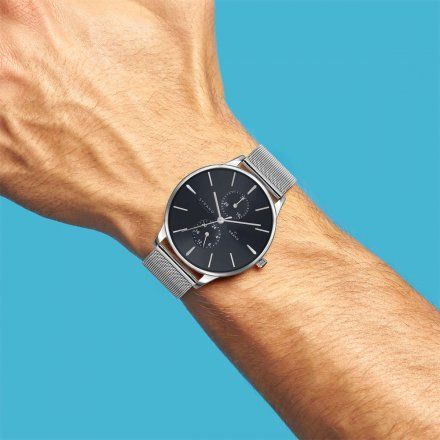 S703GMCLMC Srebrny zegarek Męski Strand by OBAKU