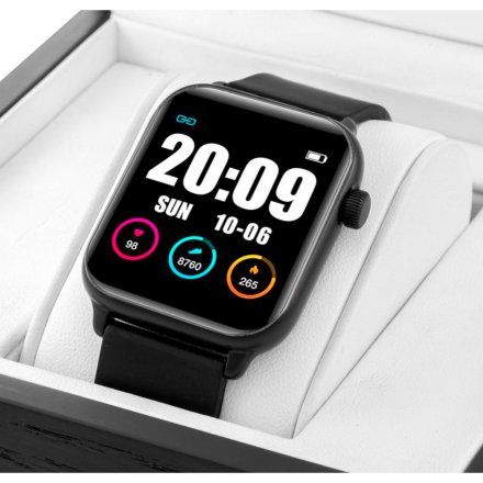 Smartwatch z Pomiarem tętna Rubicon RNCE57BIBX05AX