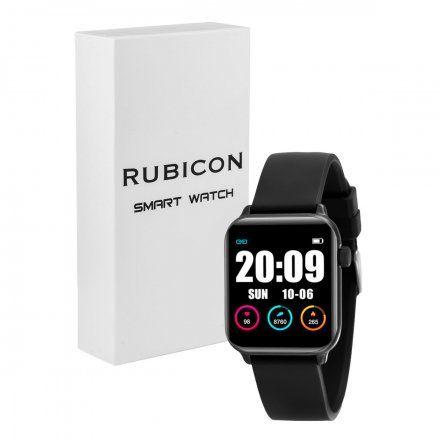 Czarny smartwatch damski Rubicon RNCE57BIBX05AX