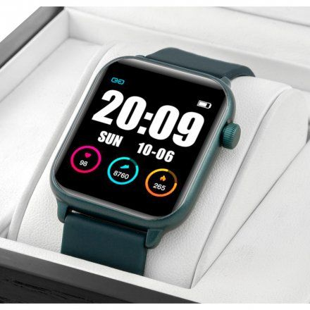 Granatowy smartwatch damski Rubicon RNCE57DIBX05AX