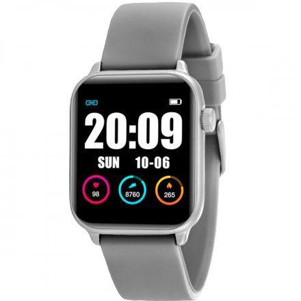Smartwatch z Termometrem, Pulsoksymetr - Pomiar Saturacji krwi - Rubicon RNCE57SIBX05AX