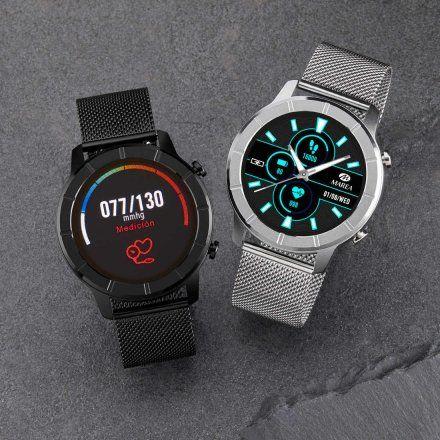 Czarny Smartwatch Marea B58003-4 bransoletka + czarny pasek