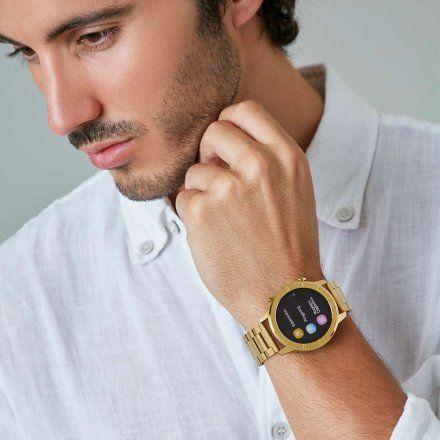Złoty Smartwatch Marea B58003-5 bransoletka + czarny pasek