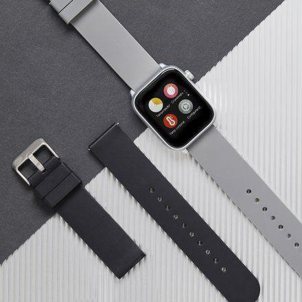 Smartwatch Marea B59004-1 czarny + czerwony pasek
