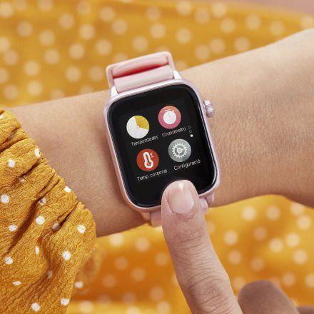 Smartwatch Marea B59004-5 czarny + fioletowy pasek