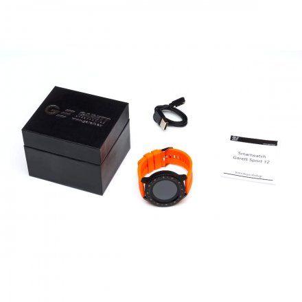 Smartwatch Garett Sport 12 Pomarańczowy
