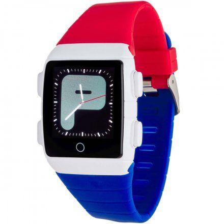 Smartwatch Garett Teen 5 Niebiesko-czerwony