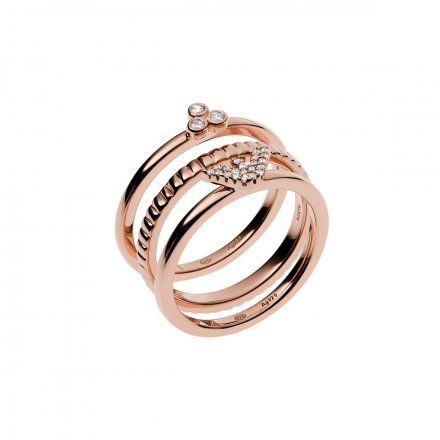 Pierścionek damski Emporio Armani EG3485221 r. 13 Oryginalna Biżuteria EA