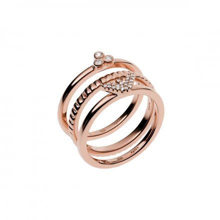 Pierścionek damski Emporio Armani EG3485221 r. 16 Oryginalna Biżuteria EA