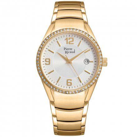 Pierre Ricaud P21032.1153QZ Zegarek Damski Niemiecka Jakość
