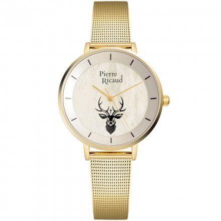 Pierre Ricaud P22056.111FQRE Zegarek Damski Niemiecka Jakość
