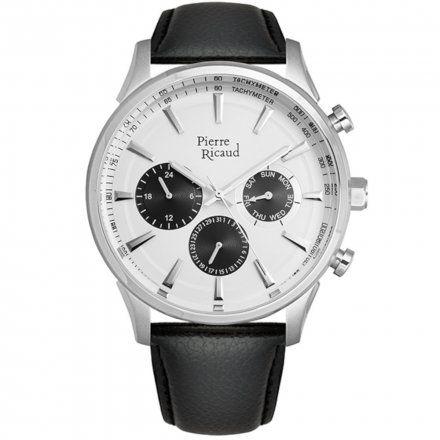 Pierre Ricaud P60014.5213QF Zegarek Męski Niemiecka Jakość