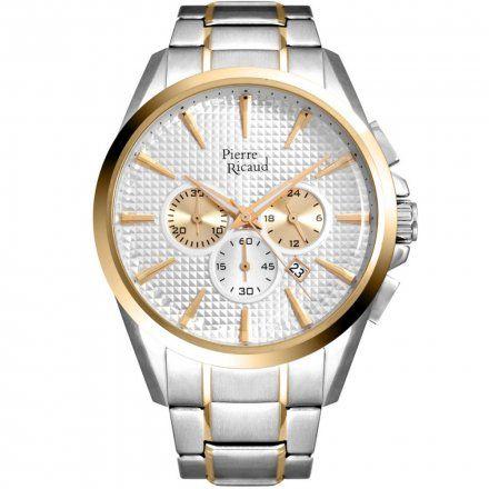 Pierre Ricaud P60017.2113CH Zegarek Męski Niemiecka Jakość
