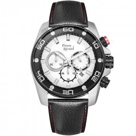 Pierre Ricaud P60018.Y213CHR Zegarek Męski Niemiecka Jakość