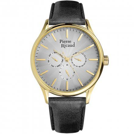 Pierre Ricaud P60020.1217QF Zegarek Męski Niemiecka Jakość