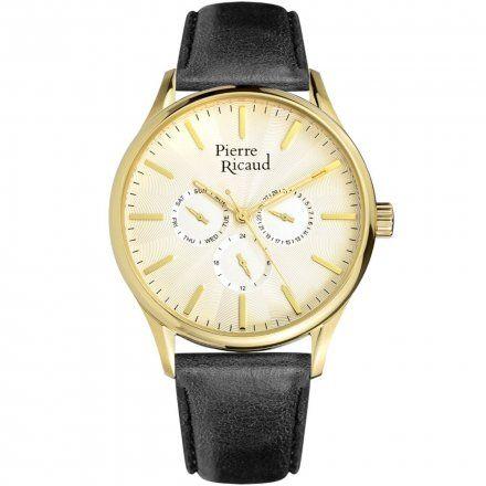 Pierre Ricaud P60020.1B11QF Zegarek Męski Niemiecka Jakość