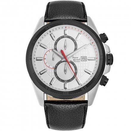 Pierre Ricaud P91014.Y213CH Zegarek Męski Niemiecka Jakość