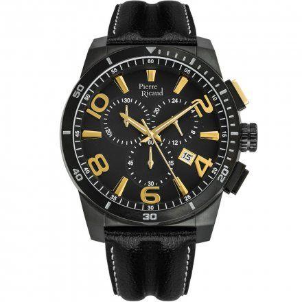 Pierre Ricaud P60016.B254CHY Zegarek Męski Niemiecka Jakość