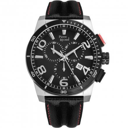 Pierre Ricaud P60016.Y254CH Zegarek Męski Niemiecka Jakość